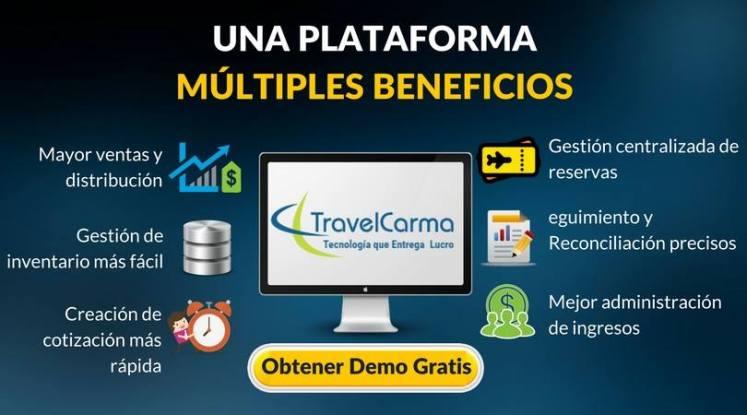 Capacidades de TravelCarma
